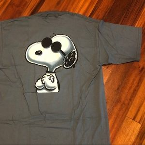 Vintage Snoopy Joe Cool Single Stitch Shirt XL